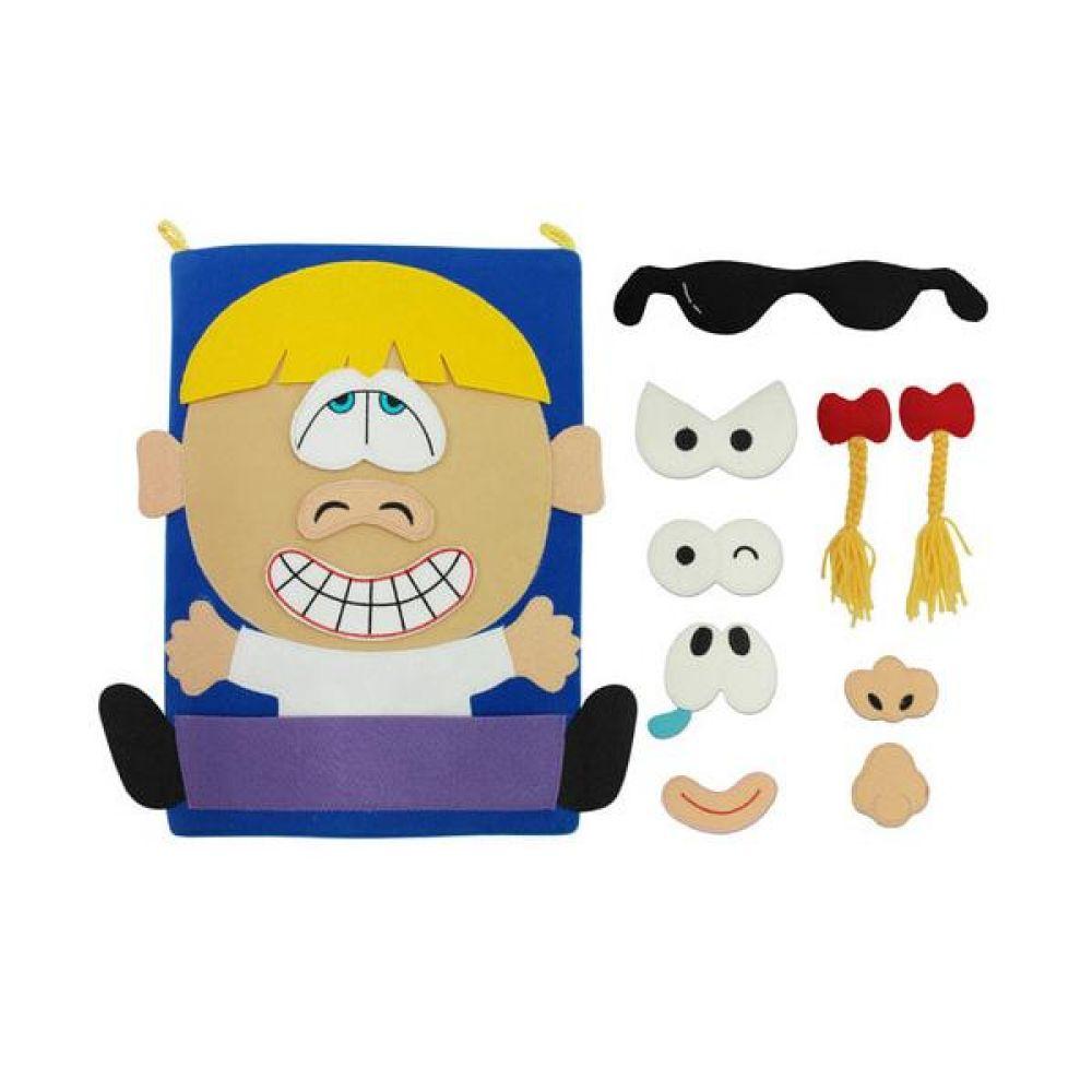 천의얼굴 차트 완구 문구 장난감 어린이 캐릭터 학습 교구 교보재 인형 선물
