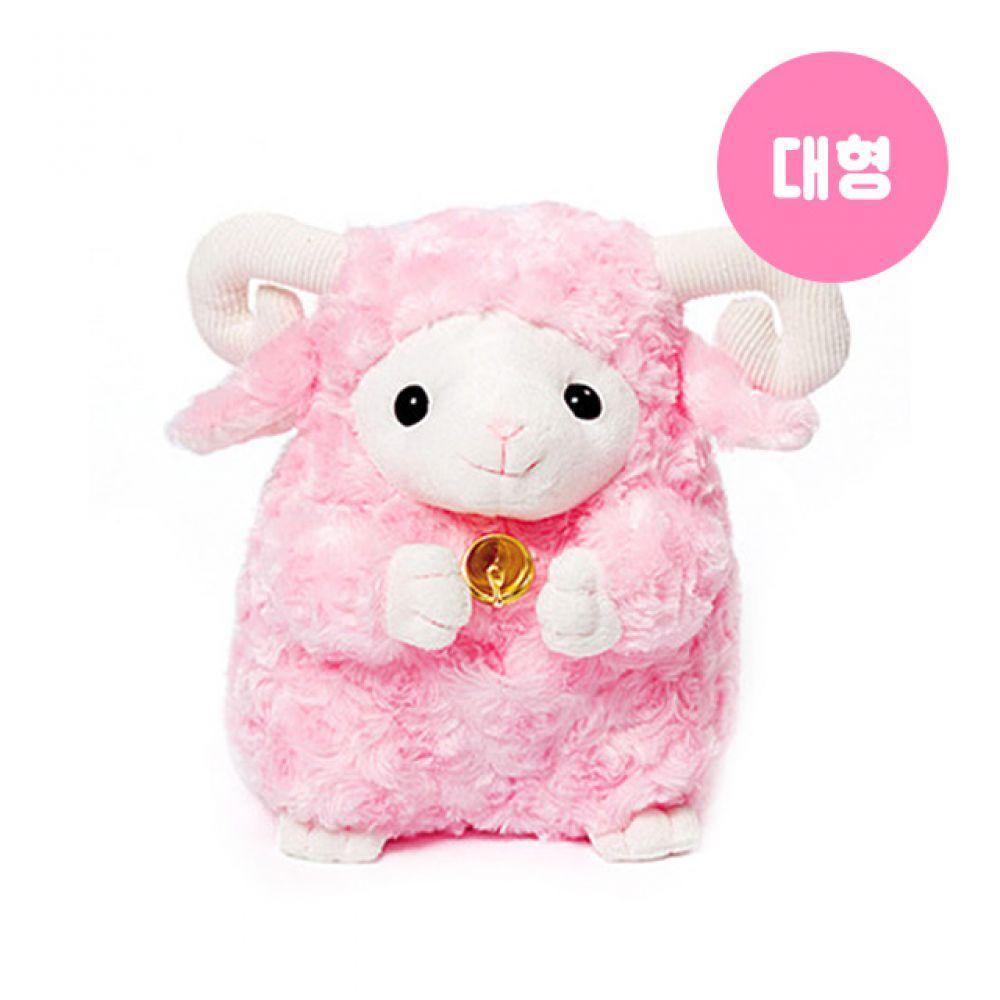 대관령 양떼인형-핑크(대형) 양인형 봉제인형 캐릭터인형 동물인형 안고자는인형 인형선물 캐릭터인형 대관령양떼 애착인형 sheep