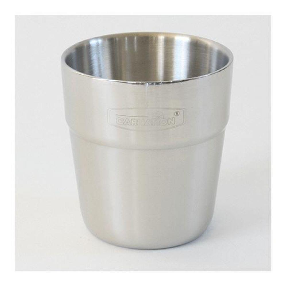 스텐레스 이중컵5호 200ml 머그컵 물컵 도자기컵 머그잔 커피잔