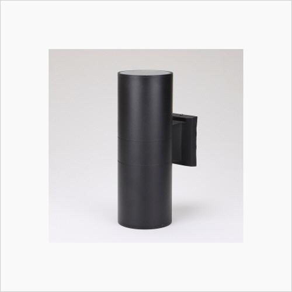 인테리어 조명기구 실내용 원통 2등 벽등 블랙 철물용품 인테리어조명 벽등 직부등 센서등 조명 전구 램프 백열등기구