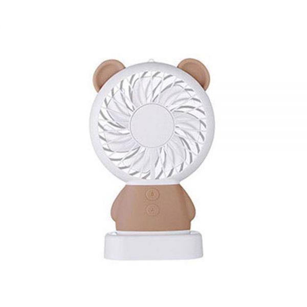 LED 미니 캐릭터 선풍기 스탠드형 미니선풍기 휴대용