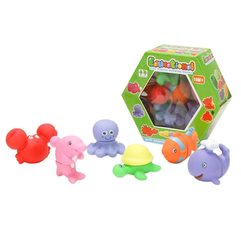 블럭 2세 유아 장난감 소프트 해양 블록 놀이 2살 퍼즐 블록 블럭 장난감 유아블럭