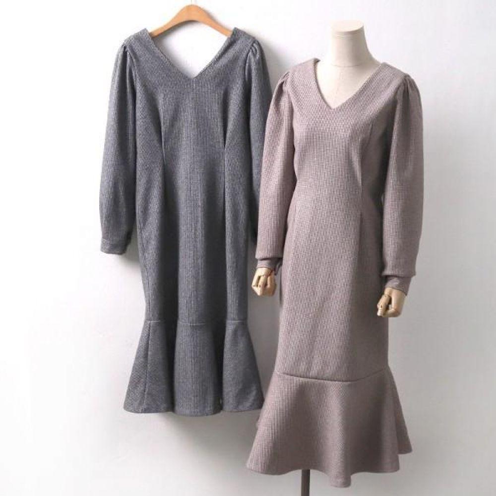 빅사이즈 912 클래식 하운드 원피스 DMO7538 빅사이즈 여성의류 미시옷 임부복 912클래식하운드원피스DMO7538