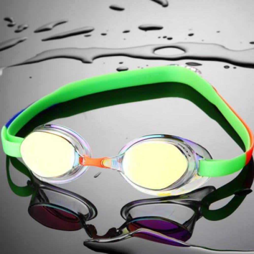 SGL-8200S-CLGR SD7 선수용 노패킹 컬러믹스 수경 수영용품 물안경 남자수경 여자수경 성인물안경