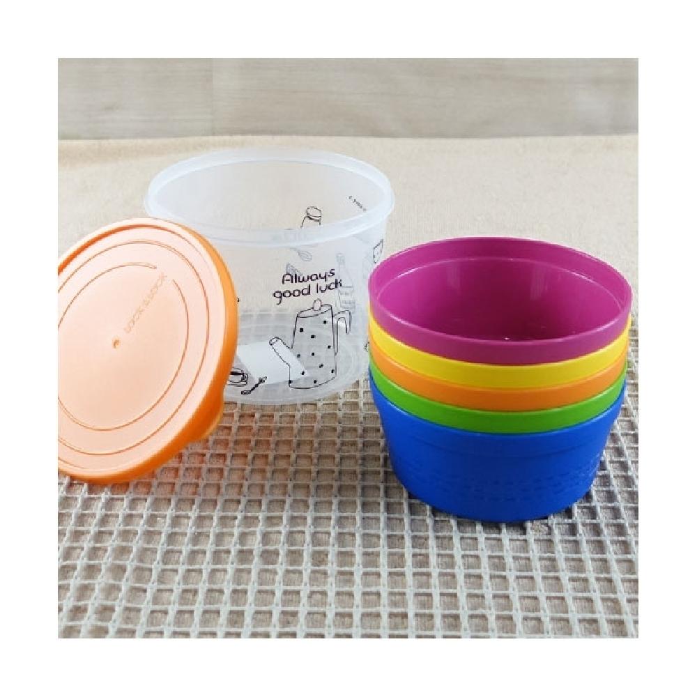 락앤락 레인보우 국그릇 1LX5입 HPP512S5아동그릇 밥그릇 국그릇 라면기 칼라그릇 원형접시 락앤락공기 아동그릇 밥그릇 국그릇 라면기 칼라그릇
