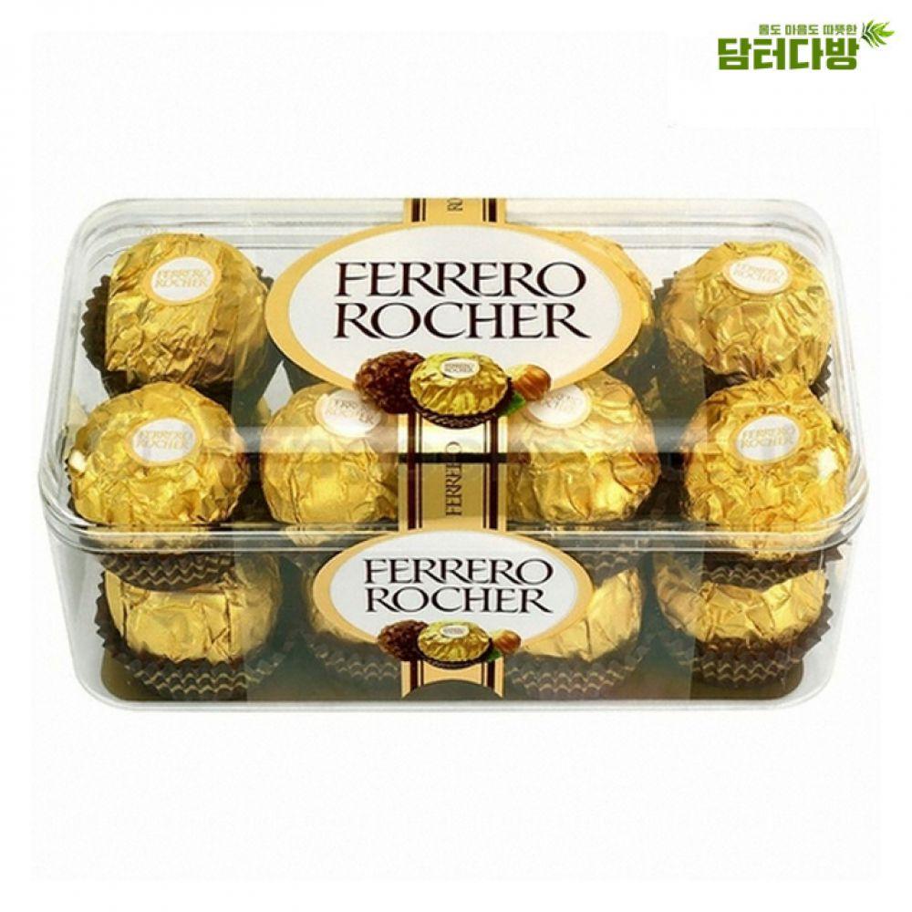 페레로로쉐 T16 / 선물용초콜릿 페레로로쉐 맛있는초콜릿 초코볼 고급스러운 선물용으로좋은 발렌타인데이선물 화이트데이선물