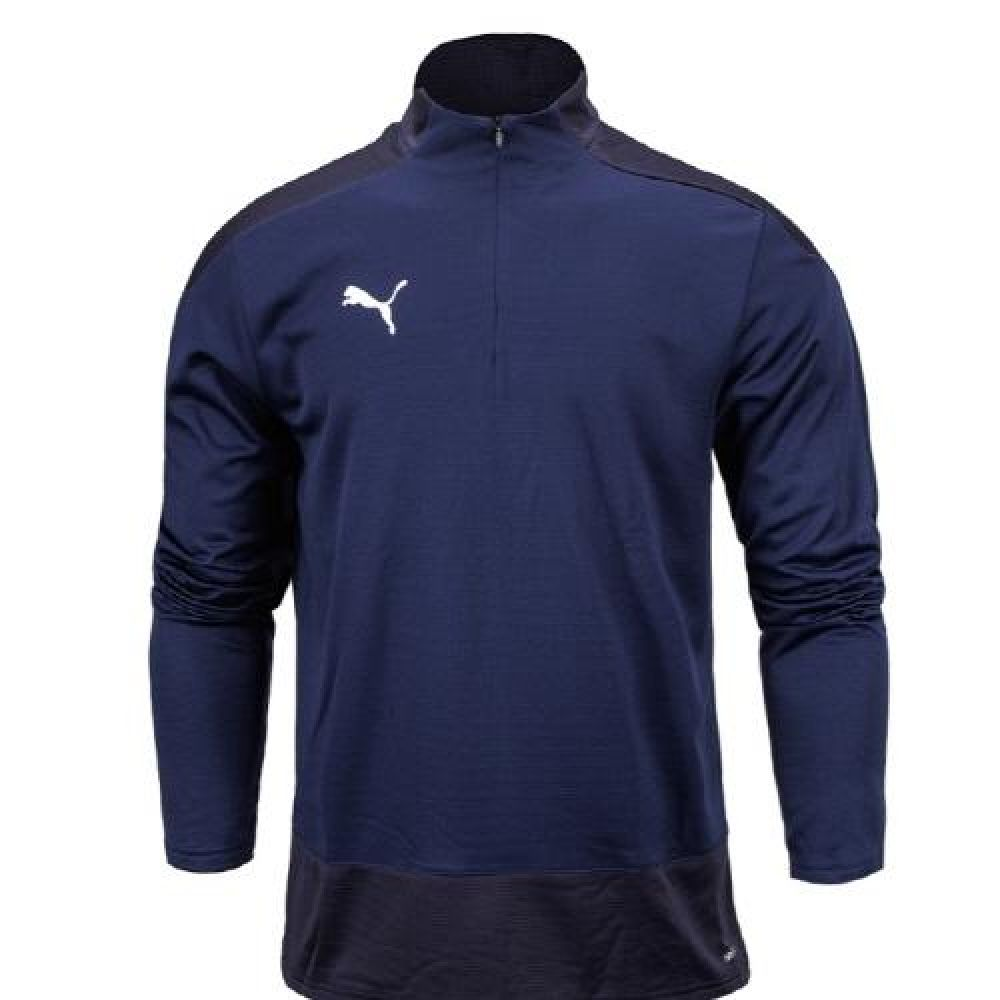 푸마 팀골23 트레이닝 반집업 티셔츠 네이비 푸마티셔츠 트레이닝티셔츠 스포츠티셔츠 운동티셔츠 반집엎티셔츠