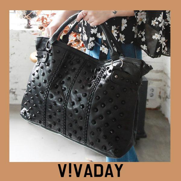VAG365 스터드장식토트백 백팩 패션가방 숄더백 토트백 크로스백 데일리백팩 데일리크로스백 데일리숄더백 여성가방 여자가방 클러치