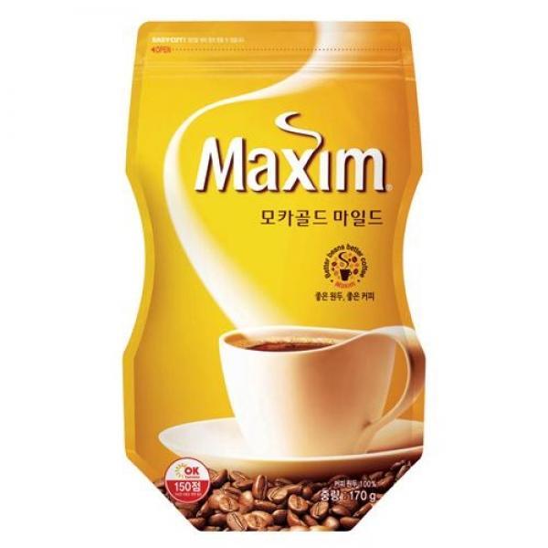 맥심 모카골드 커피(도이백 170g 동서식품) 123990 맥심 모카골드 커피 도이백 170g 동서식품