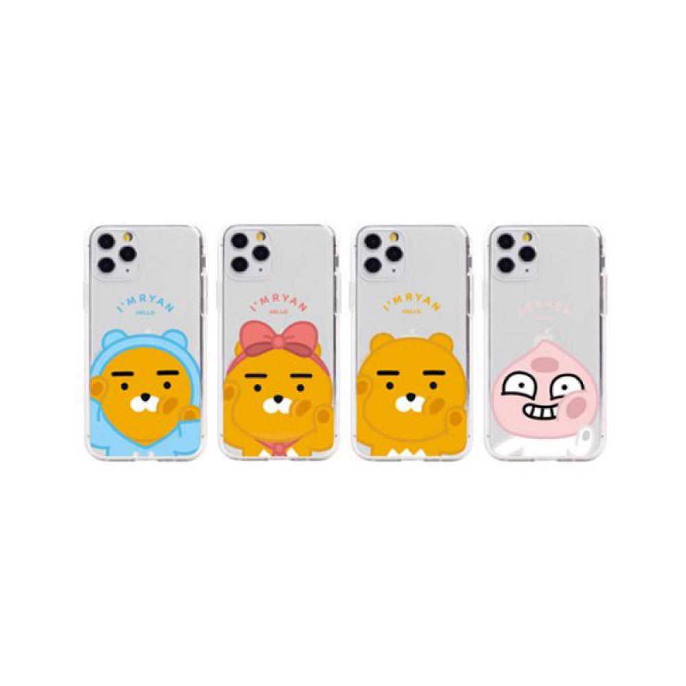 아이폰11 카카오 뽀뽀 투명젤리케이스 아이폰11 iPhone11 아이폰 iPhone 카카오케이스