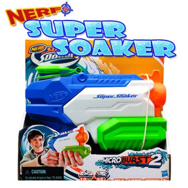 너프수퍼소커_마이크로버스트2 너프 수퍼소커 물총 너프건 물놀이