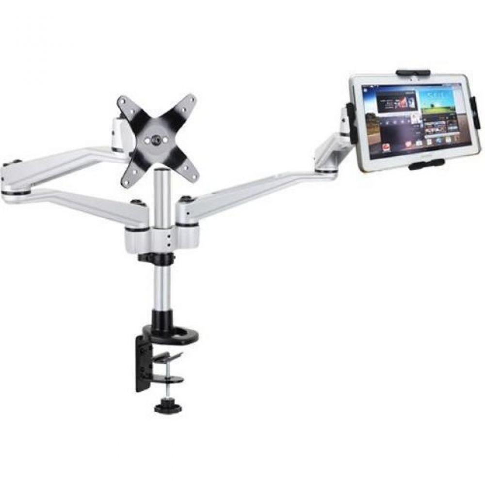 N302 LED 탁상 브라켓 태블릿 거치대세트(9-13형) 태블릿거치대 실용적 견고한스틸본체 가성비좋은 감각적인디자인 스탠드거치대 튼튼한거치대 높이조절 상하좌우 각도조절