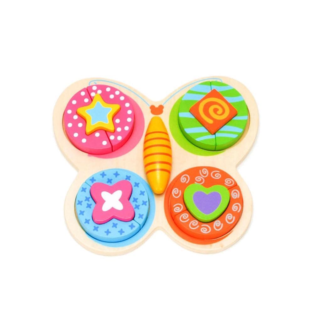 선물 유아 어린이 놀이 나비 퍼즐 블럭 아이 장난감 퍼즐 블록 블럭 장난감 유아블럭