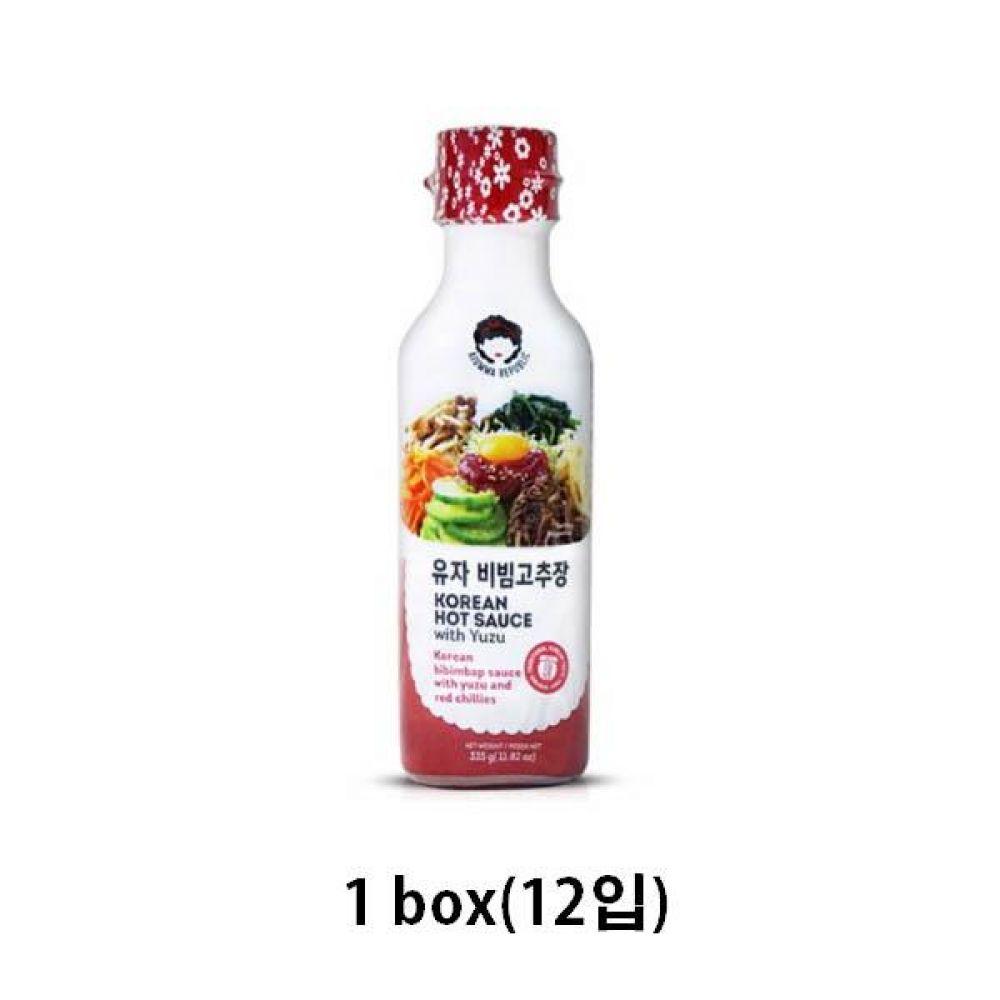 아줌마 리퍼블릭 비빔고추장 335g x 12입 비빔밥 비빔면 양념 소스 고추장
