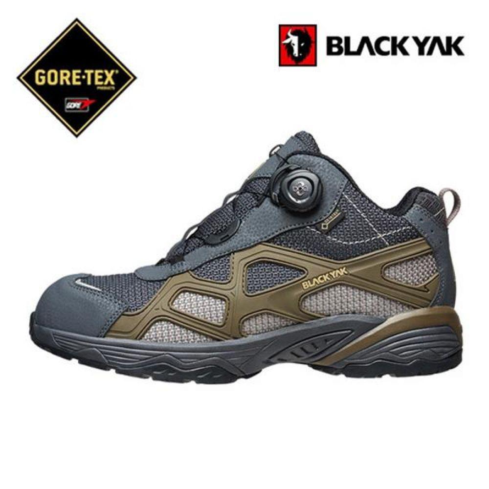 블랙야크 YAK-603 다이얼 6in 보통작업용 중단화 안전화 BLACKYAK 블랙야크 고어텍스 GORETEX 보아시스템 작업화