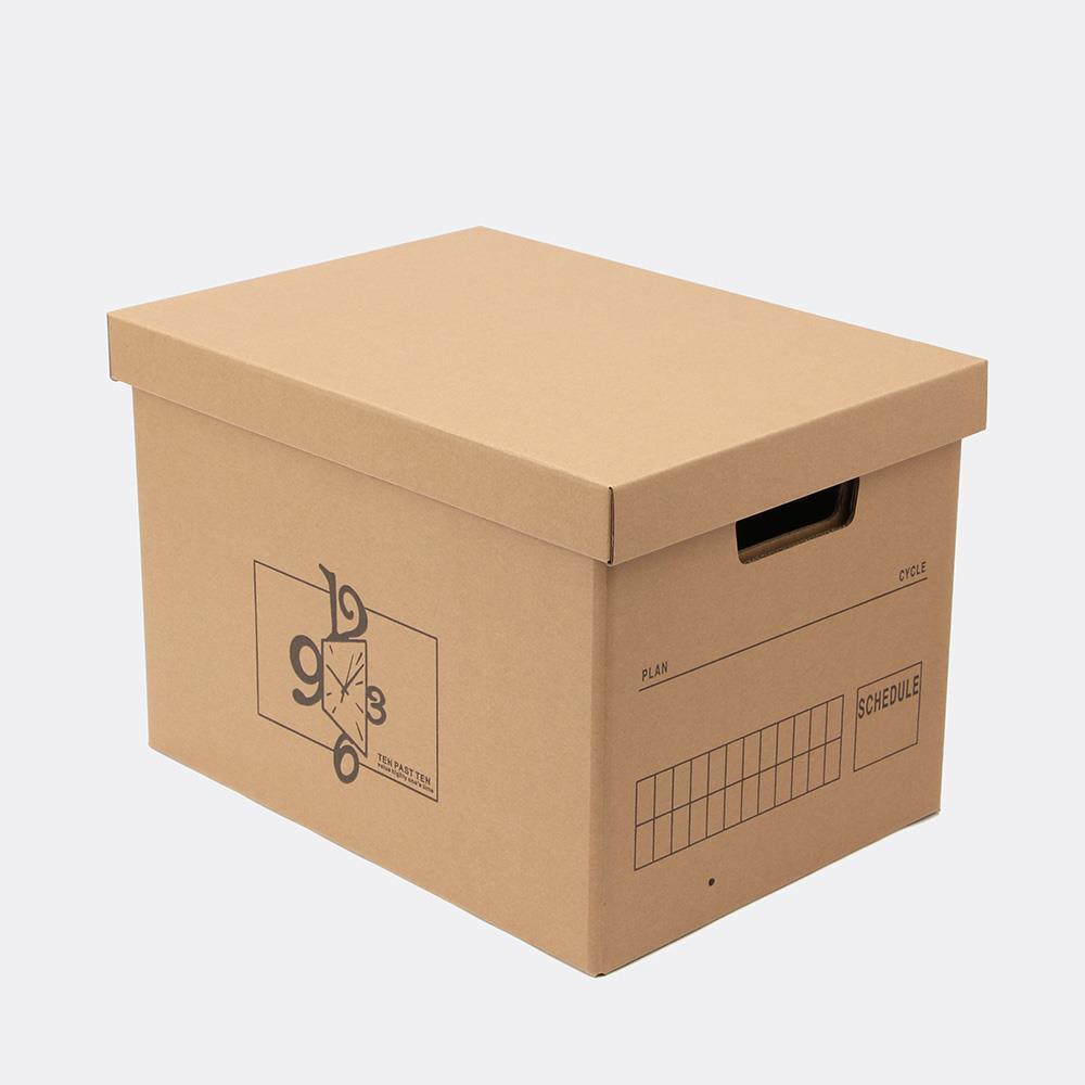 종이박스 크라프트 종이정리함 39x28cm DIY 수납상자 정리박스 수납상자 크라프트상자 수납박스 정리종이박스