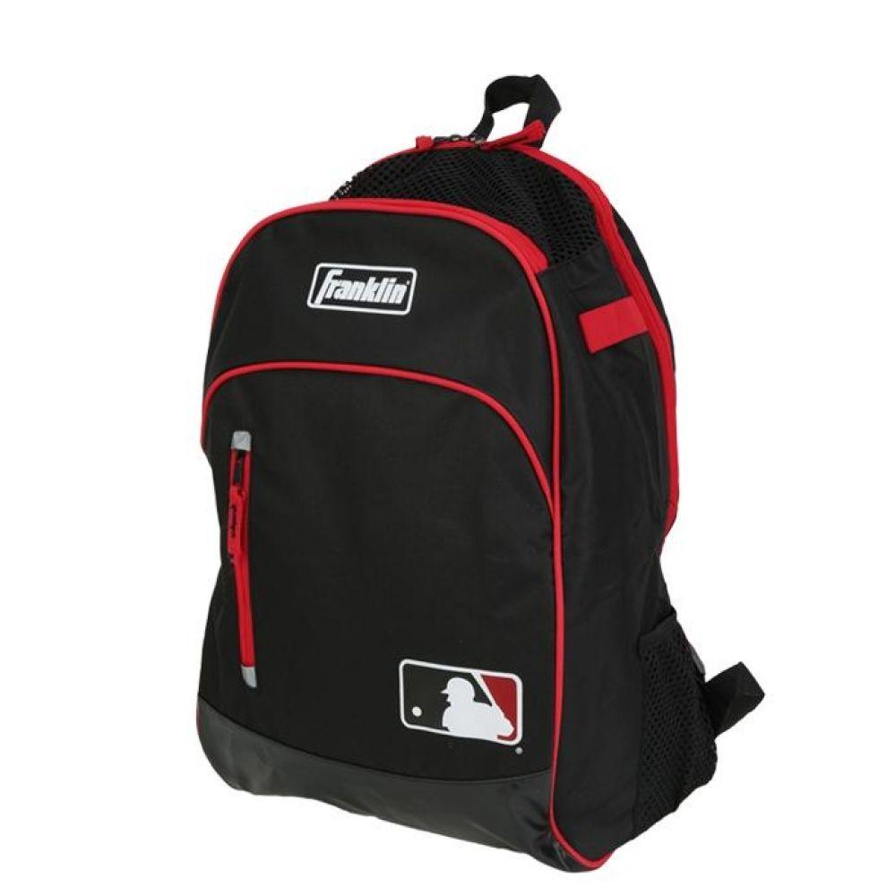 프랭클린 유소년 MLB 배트백팩 블랙레드 야구가방 야구가방 야구장비가방 유소년야구백팩 야구백팩 야구배트백팩