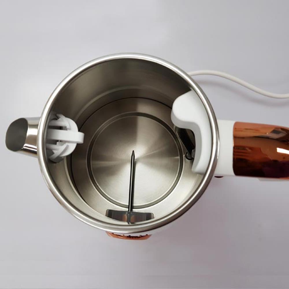 화이트골드 1.6L 전기주전자 주방가전 티주전자 포트 물끓이는포트 멀티포트 주방가전 티주전자 커피포트