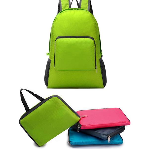 여행용 접이식 백팩 보조가방 휴대용백팩 휴대용가방 접이식가방 자전거가방