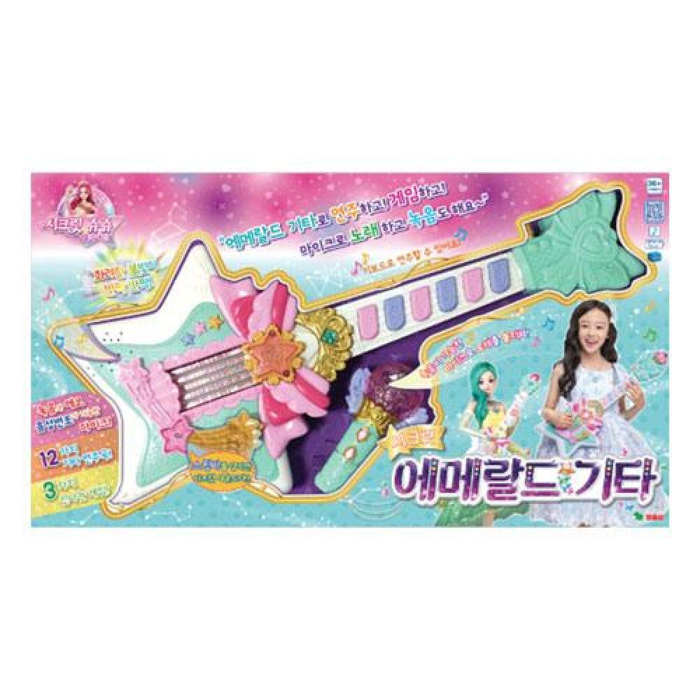 영실업 시크릿쥬쥬 시크릿 에메랄드기타(62243) 장난감 완구 토이 남아 여아 유아 선물 어린이집 유치원