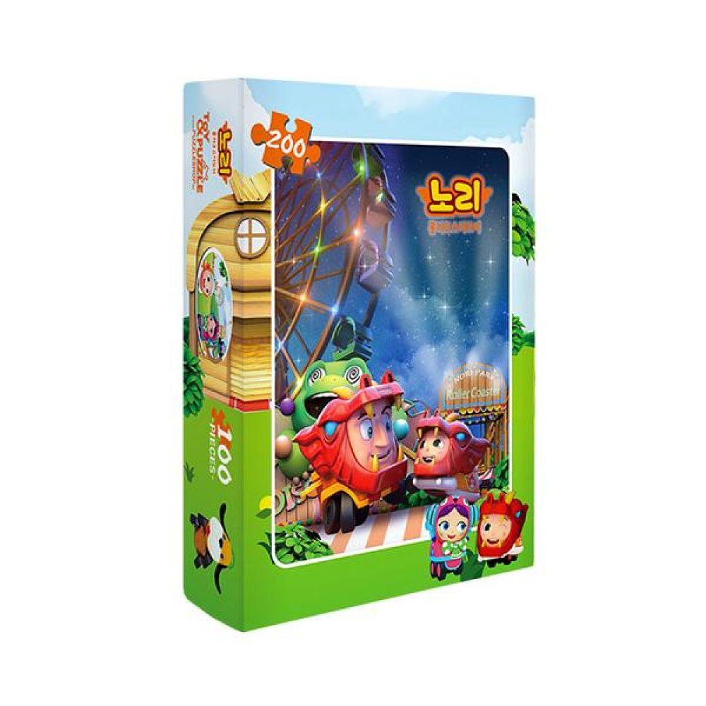 노리 직소퍼즐 200조각 완구 어린이 선물 장난감 교구 키즈 문구 학용품 캐릭터