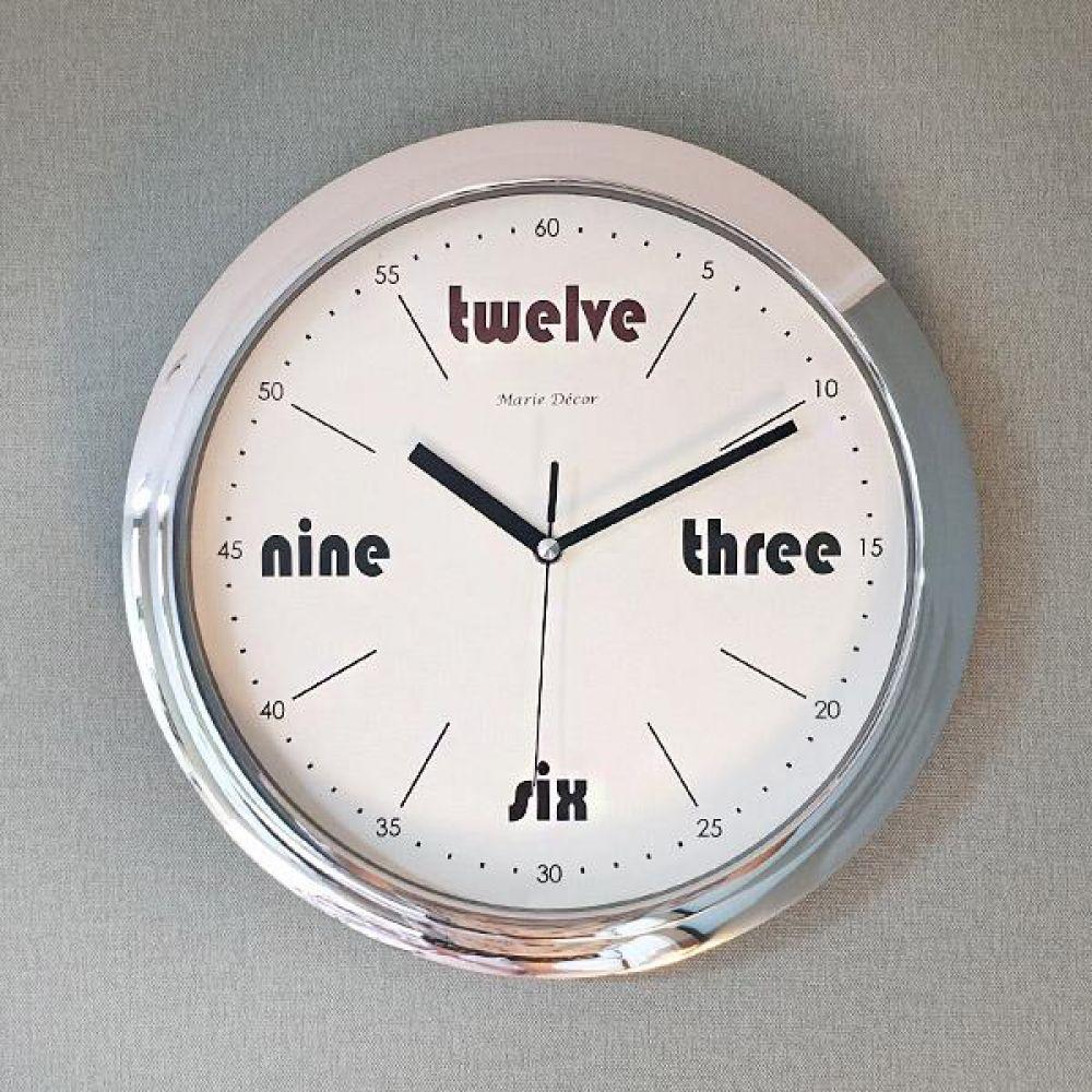 레드트웰브 무소음 벽시계 벽시계 벽걸이시계 인테리어벽시계 예쁜벽시계 인테리어소품