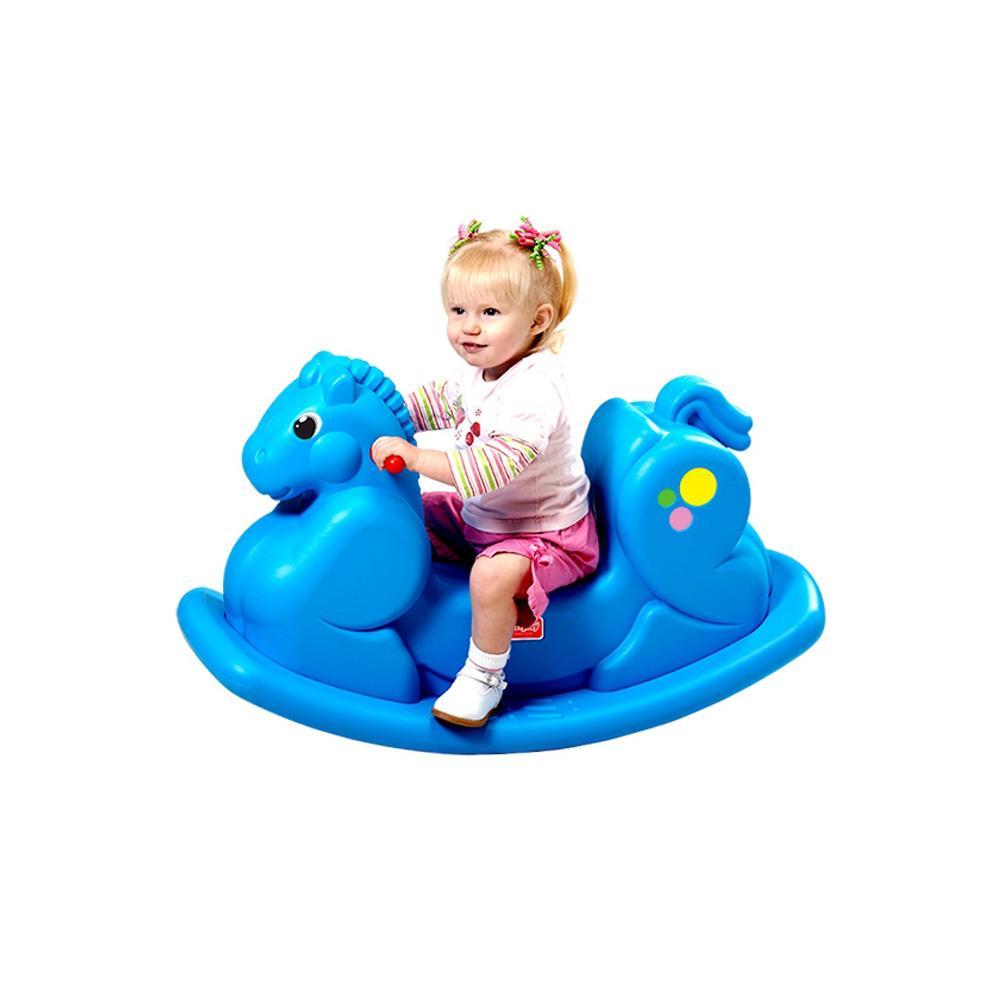 의자 아이 유아 장난감 흔들 말타기 파랑 조카 선물 유아원 장난감 2살장난감 아이놀이 어린이선물
