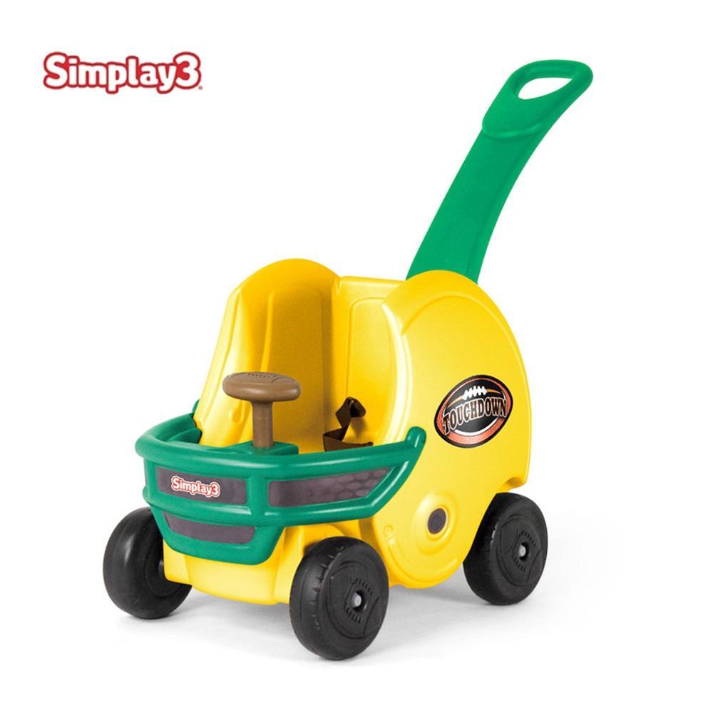 장난감 아이 놀이 헬멧 손잡이차 옐로우 유아 유아원 유아원 장난감 아이놀이 어린이선물 유아장난감