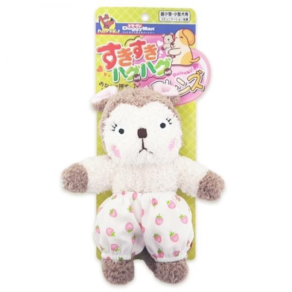 도기맨 러블리허그 장난감(다람쥐) 애견장남감 애견입마개 스타마크 강아지훈련 애완용품
