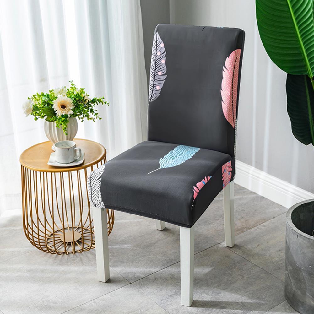의자시트커버 깃털 식탁 의자커버 천갈이 의자리폼 천갈이 의자리폼 등받이의자커버 의자시트커버 식당의자커버
