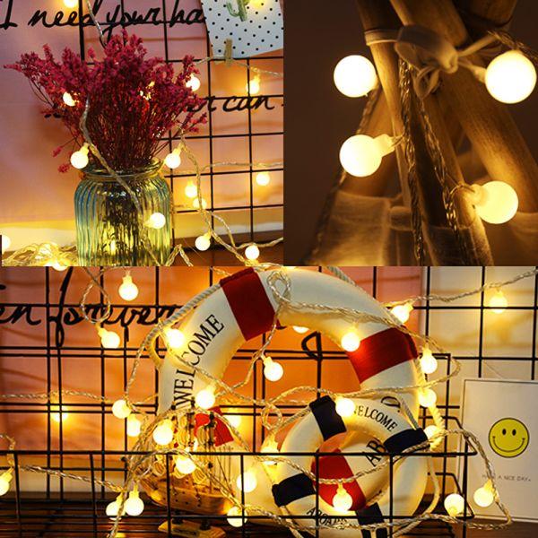 LED 앵두전구 80구 10m (USB타입) LED방울전구 전구 가랜드전구 앵두전구 LED전구 방울전구 트리전구 무드등 취침등 수면등 크리스마스트리 크리스마스전구 캠핑전구