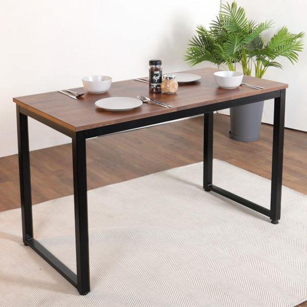 심플라인 플러스 철제 식탁 1400 테이블 다용도상 거실테이블 티이블 미니테이블