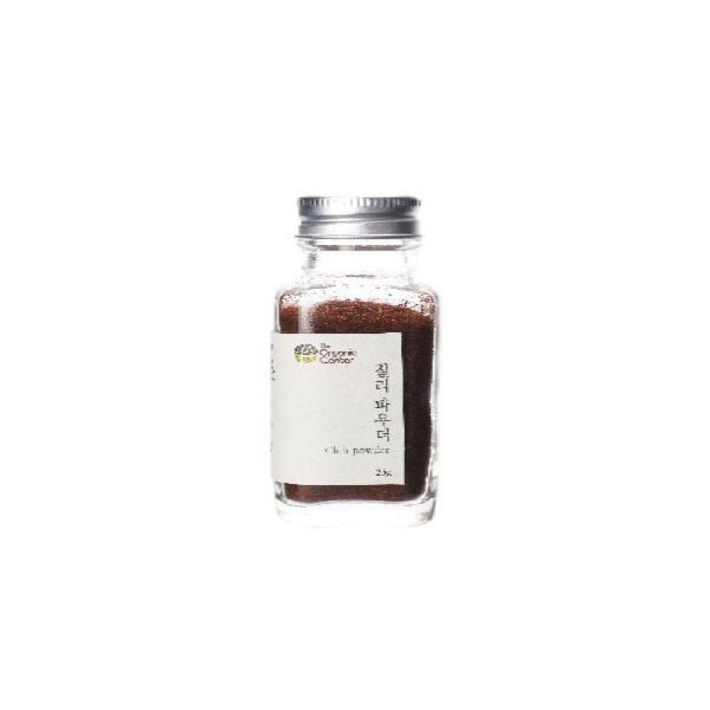 (오가닉 향신료)미국산 칠리파우더 25g 건강 고기 조미료 칠리 매콤