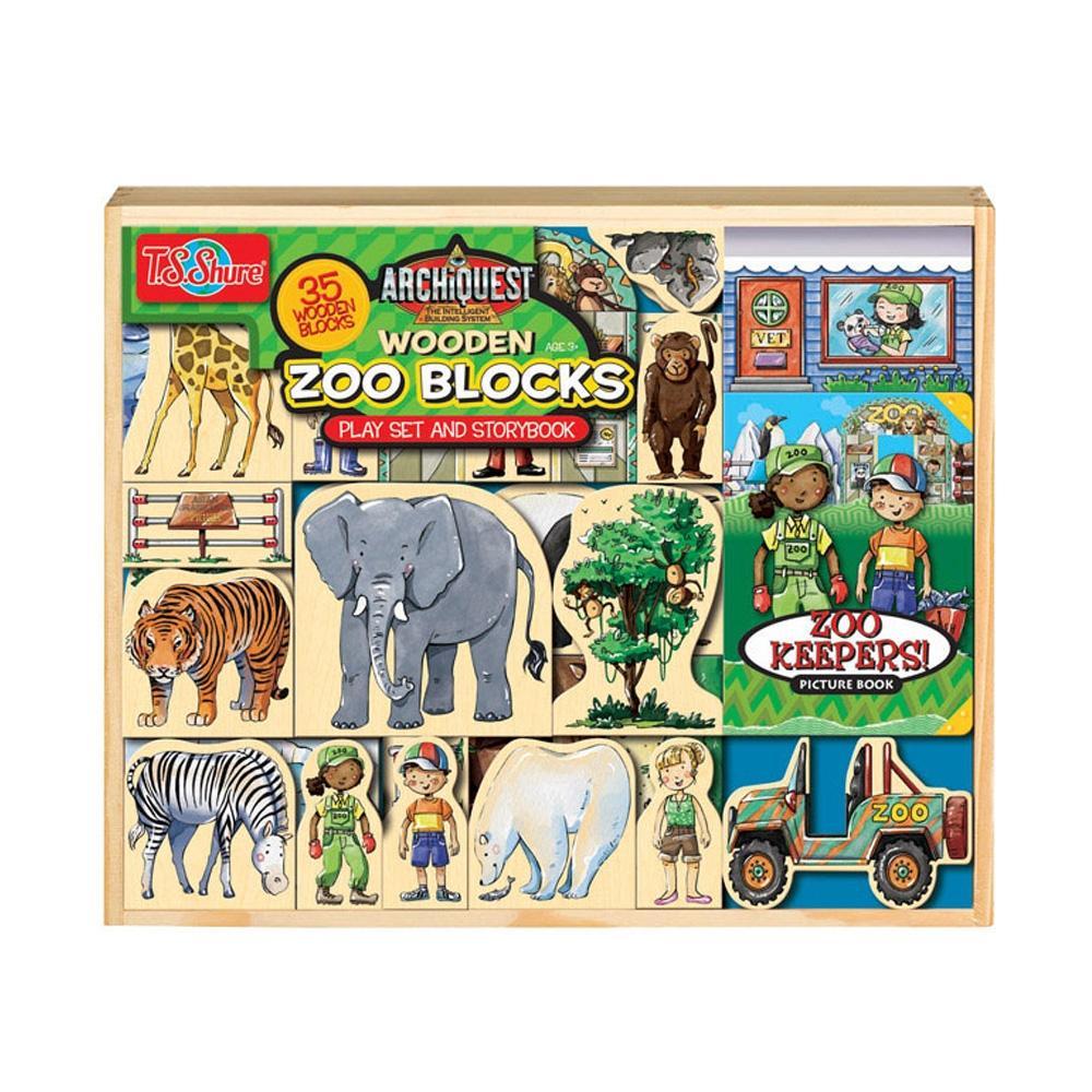 선물 3살 자석 블럭 장난감 우든 동물 원블록 조카 퍼즐 블록 블럭 장난감 유아블럭
