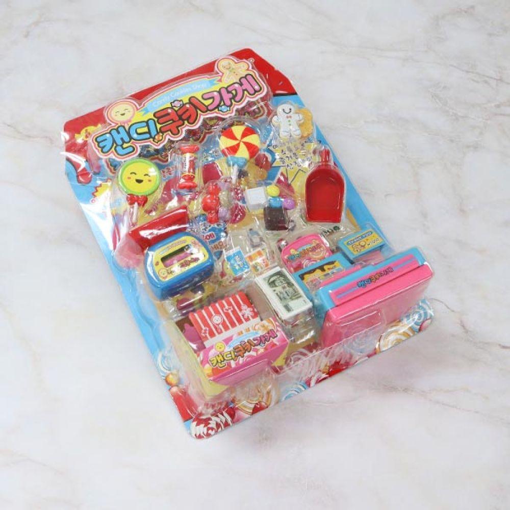 캔디쿠키 가게 유아장난감 팩토리 장난감 쿠키가게 유아장난감 장난감 역할놀이 팩토리 쿠키가게