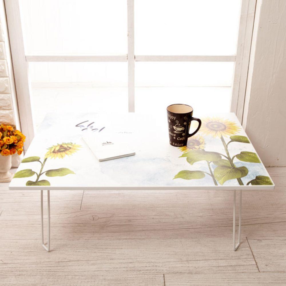 해바라기 멀티 테이블 800x600 대 밥상테이블 좌식테이블 좌식밥상 다용도접이식테이블 좌탁 접이식좌탁