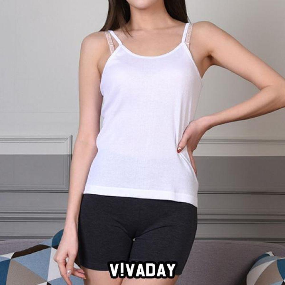 VIVADAY-SC313 기본무지 베이직 끈런닝 팬티 속바지 트렁크 속치마 속옷 여성속옷 남성속옷 런닝 나시 반팔