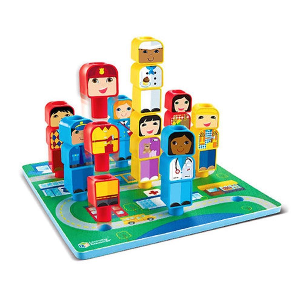 선물 어린이 아이 과학 학습 교구 퍼즐우리동네 생일 유아원 장난감 학습교구 교구 놀이교구