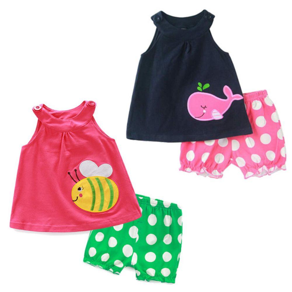 꿀벌과고래 썸머상하복(12-36개월)300091 아기외출복 백일아기옷 아기룸퍼 6개월아기옷 아기룸퍼 돌아기옷 신생아외출복 베이비롬퍼