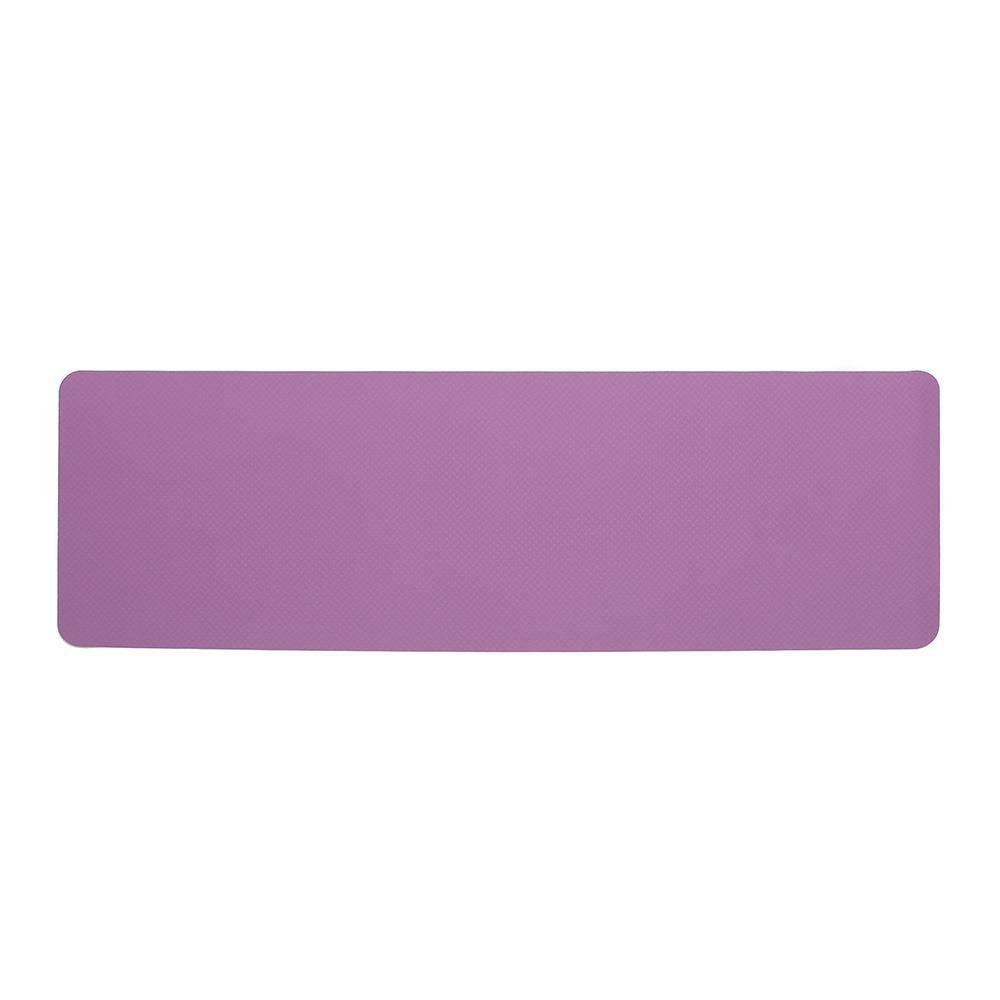 요가매트 더블 TPE 필라테스매트 6mm 컬러 논슬립 스트레칭매트 요가매트 운동매트 휴대용매트 운동용품