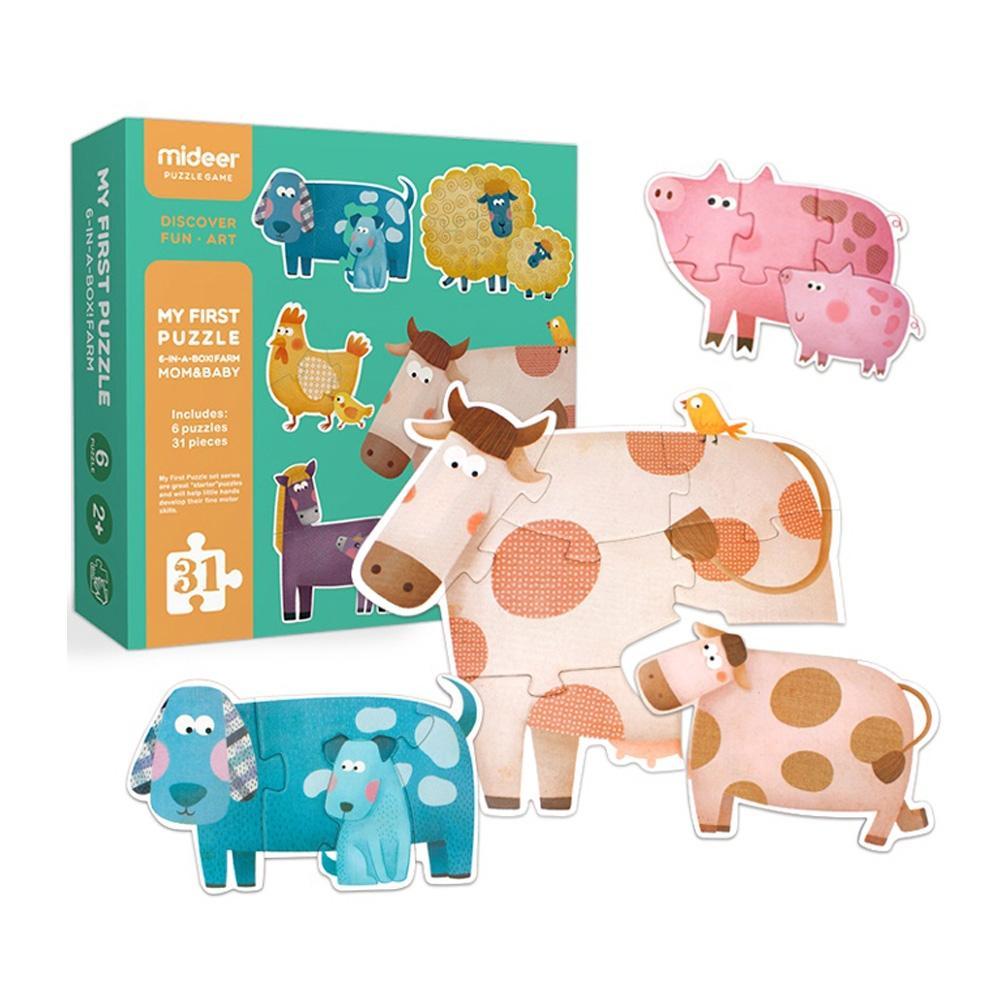 선물 3살 3세 유아 퍼즐 놀이 농장 31P 어린이날 생일 퍼즐 어린이교구 창의교구 아동퍼즐 창작놀이
