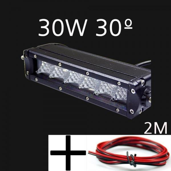 12V-24V겸용 LED써치라이트 30W 집중형 해루질 작업등  선2m포함 led작업등 led라이트 낚시집어등 차량용써치라이트 해루질써치