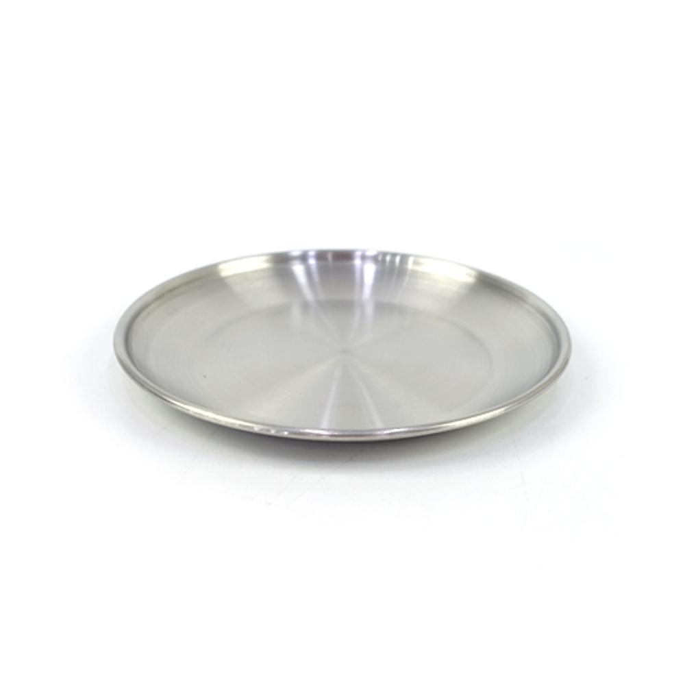 델키 어바노 원형 접시 14cm접시 스텐접시 둥근접시 원형접시 스텐원형접시 스텐식기 주방식기 업소용접시 접시 스텐접시 둥근접시 원형접시 스텐원형접시