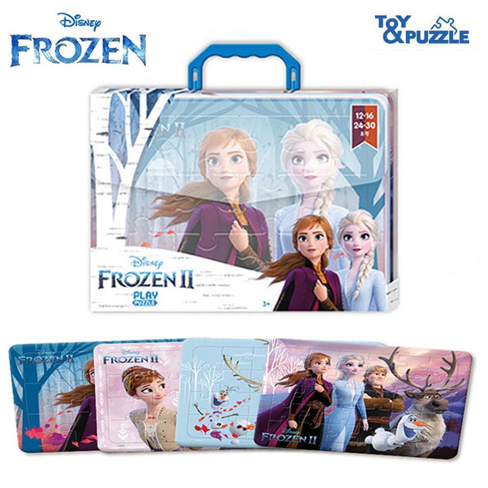 토이앤퍼즐 디즈니 겨울왕국2 가방퍼즐 4P (12.16.24.30조각) 직소퍼즐 퍼즐 퍼즐놀이 캐릭터 아동퍼즐