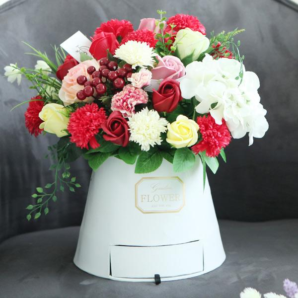 영원한사랑 카네이션 용돈박스(서랍형) 카네이션 비누꽃 어버이날 스승의날 비누카네이션 코사지 시들지않는꽃 부모님선물 어버이날선물 스승의날선물 브로지 꽃배달 꽃바구니