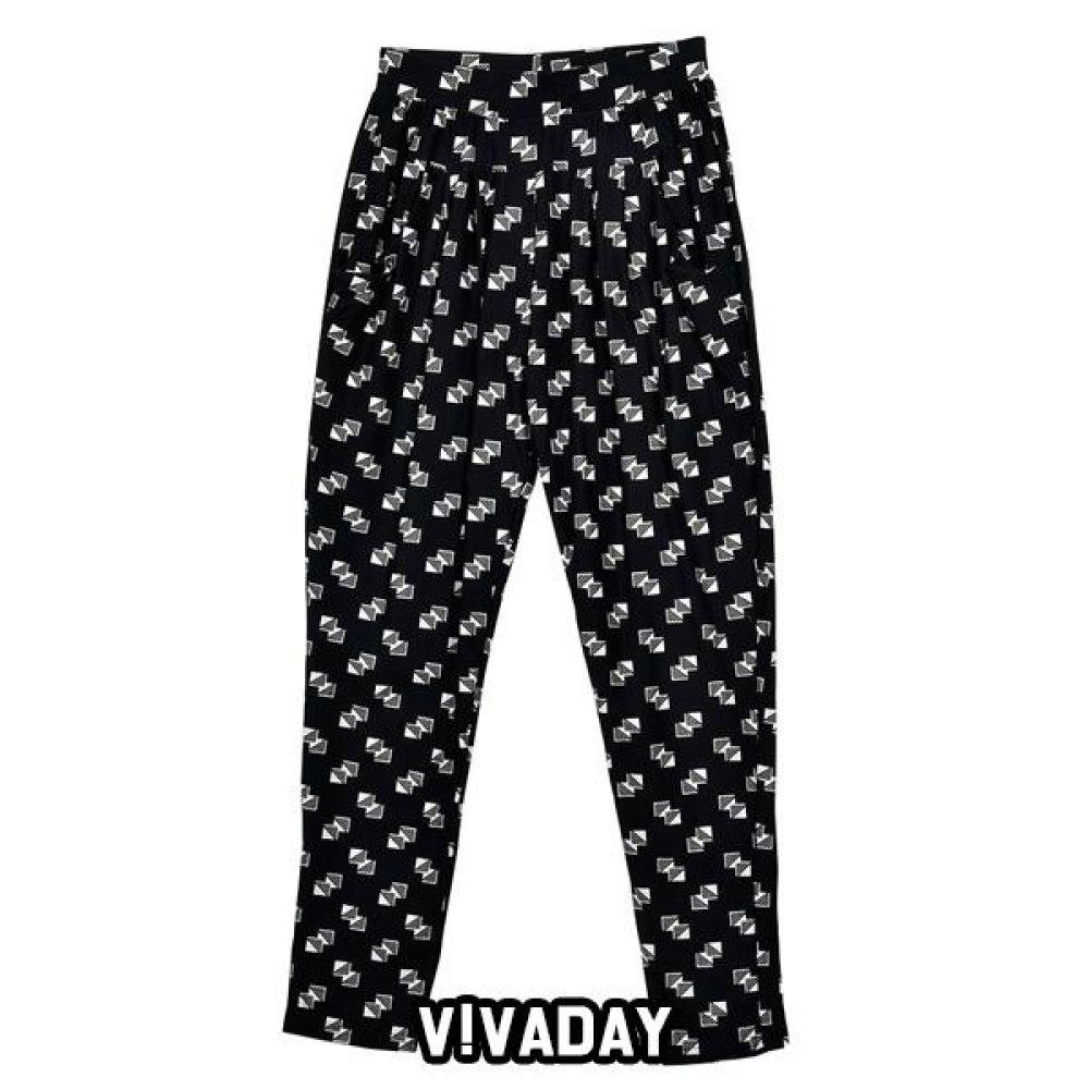 VIVADAY-SC349 고급패턴 주머니 팬츠 홈웨어 이지웨어 긴팔 반팔 내의 레깅스 원피스 잠옷 덧신 알라딘바지