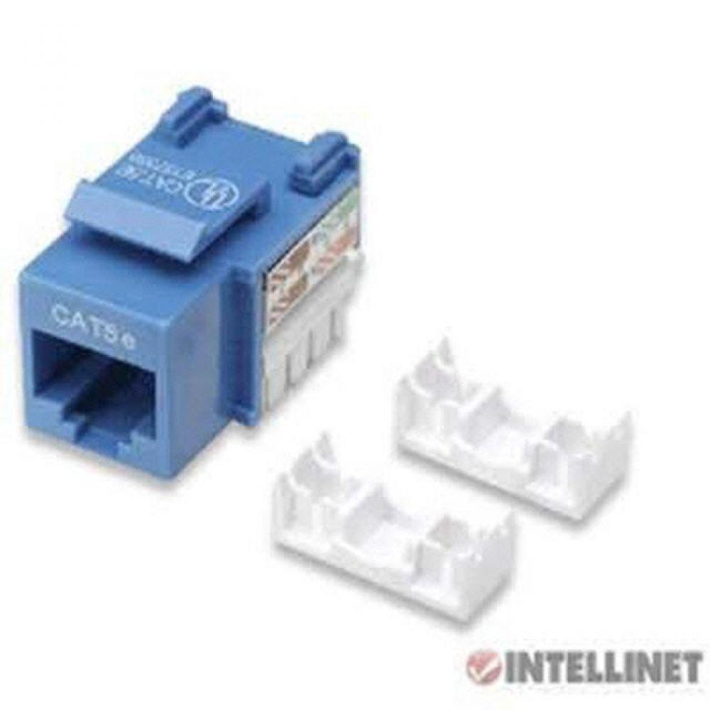 PCD N1054 Intellinet 키스톤잭 Cat5e blue 컴퓨터용품 PC용품 컴퓨터악세사리 컴퓨터주변용품 네트워크용품 무선공유기 iptime 와이파이공유기 iptime공유기 유선공유기 인터넷공유기