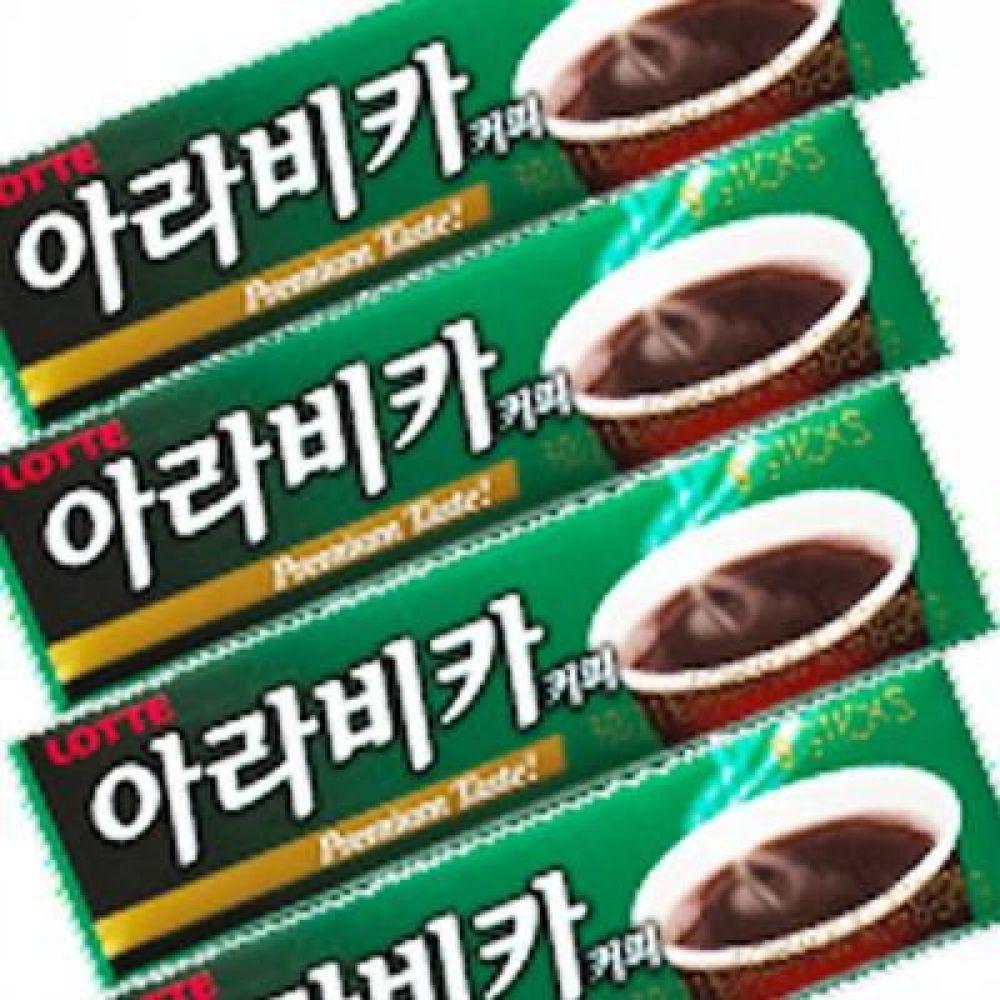 롯데)아라비카 커피껌 26g x 30개 깊고 풍부한 아라비카 커피향의 껌 껌 코피 달콤 향기 커피