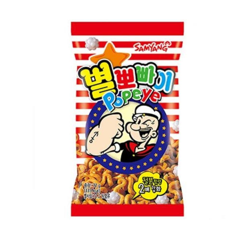 삼양)별뽀빠이 72g x 24개 과자 스낵 군것질 박스단위 도매