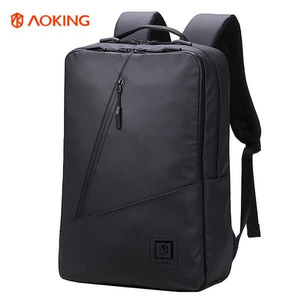KJ_FKK001 심플 사선지퍼 백팩 데일리가방 캐주얼백팩 디자인백팩 예쁜가방 심플한가방